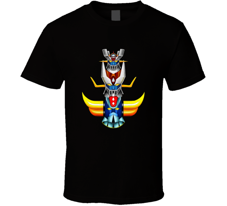 Grendizer And The 2 Mazinger T-shirt And Apparel 1