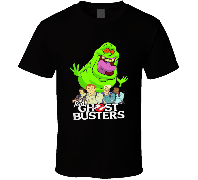 The Real Ghostbusters T-shirt And Apparel 1