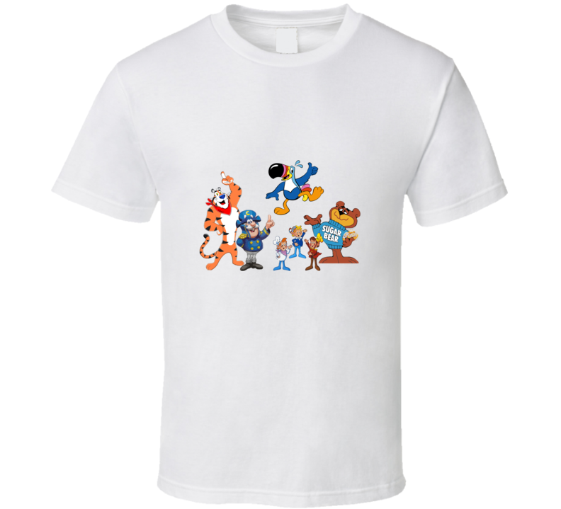 Our Cereal Friends T-shirt And Apparel 1