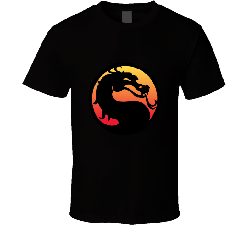 Mortal Kombat Logo T-shirt And Apparel 1