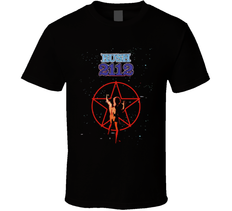Rush 2112 Starman T-shirt And Apparel 1