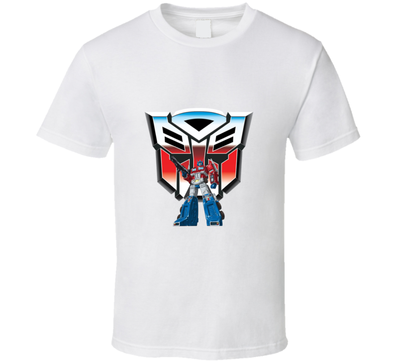 Transformers Optimus Prime And Logo T-shirt And Apparel 1