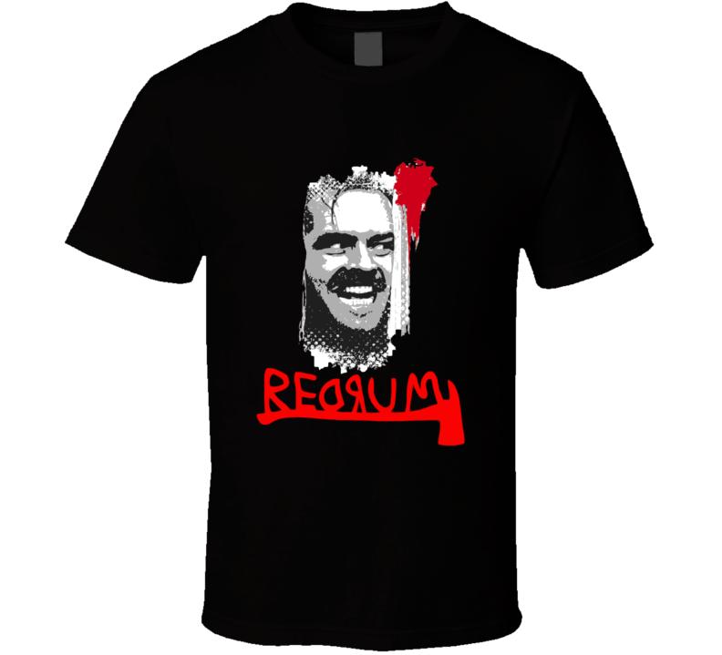 Shining Jack Torrance Redrum T-shirt And Apparel 1