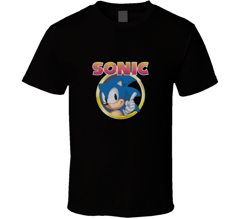 Sonic Logo T-shirt And Apparel 1