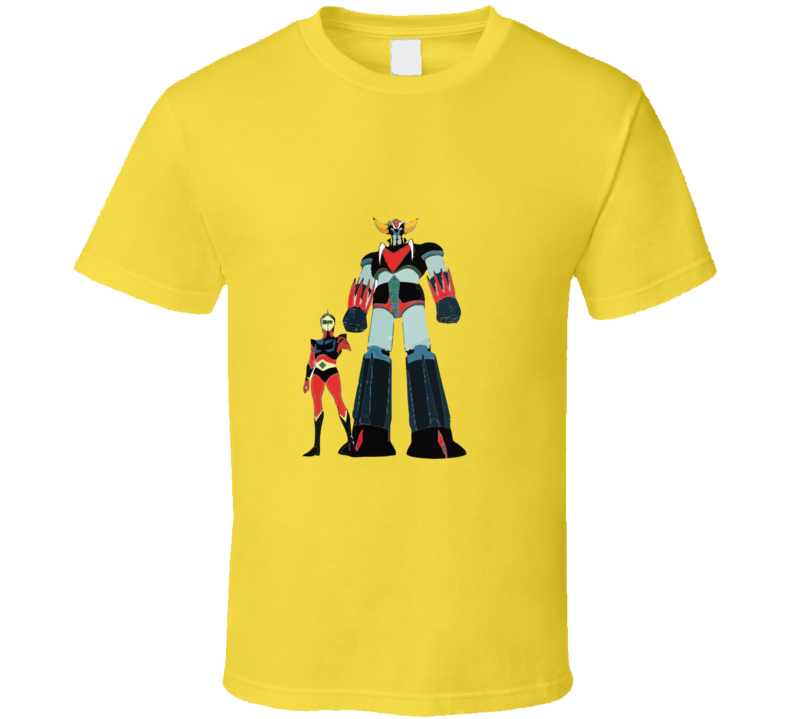 Grendizer And Duke Fleed T-shirt And Apparel 1
