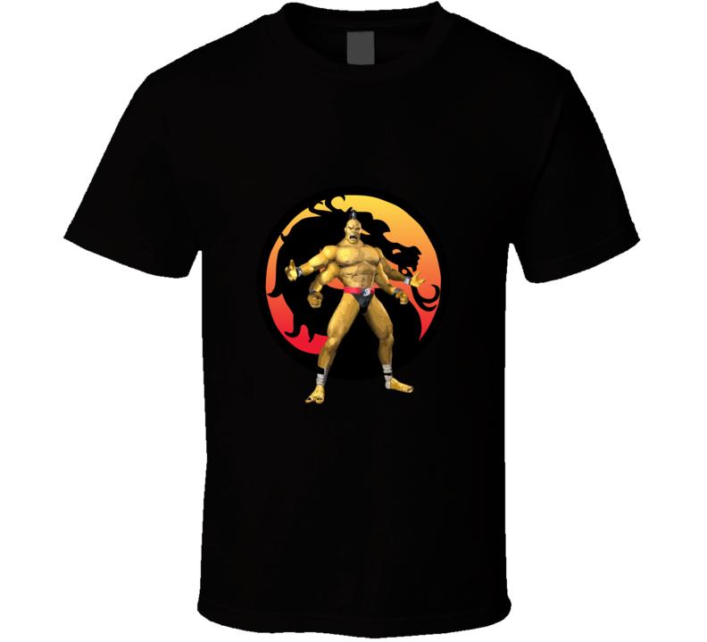 Mortal Kombat Logo And Goro T-shirt And Apparel 1