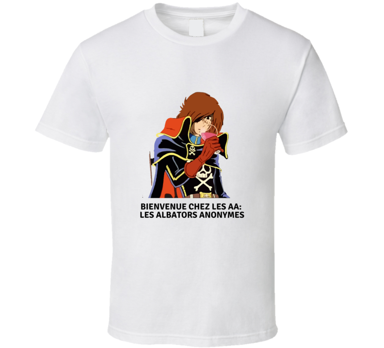 Captain Harlock Anonymous T-shirt And Apparel 1