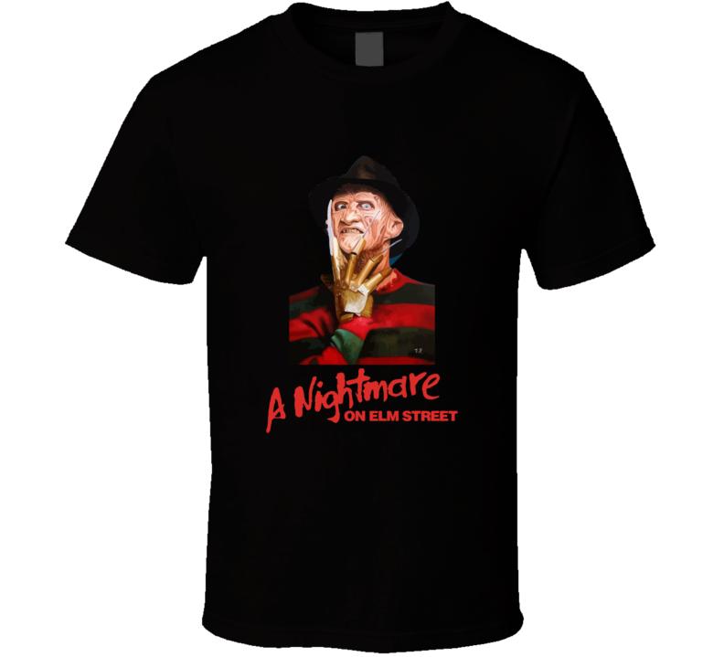 Freddy Krueger A Nightmare On Elm Street T-shirt And Apparel 1