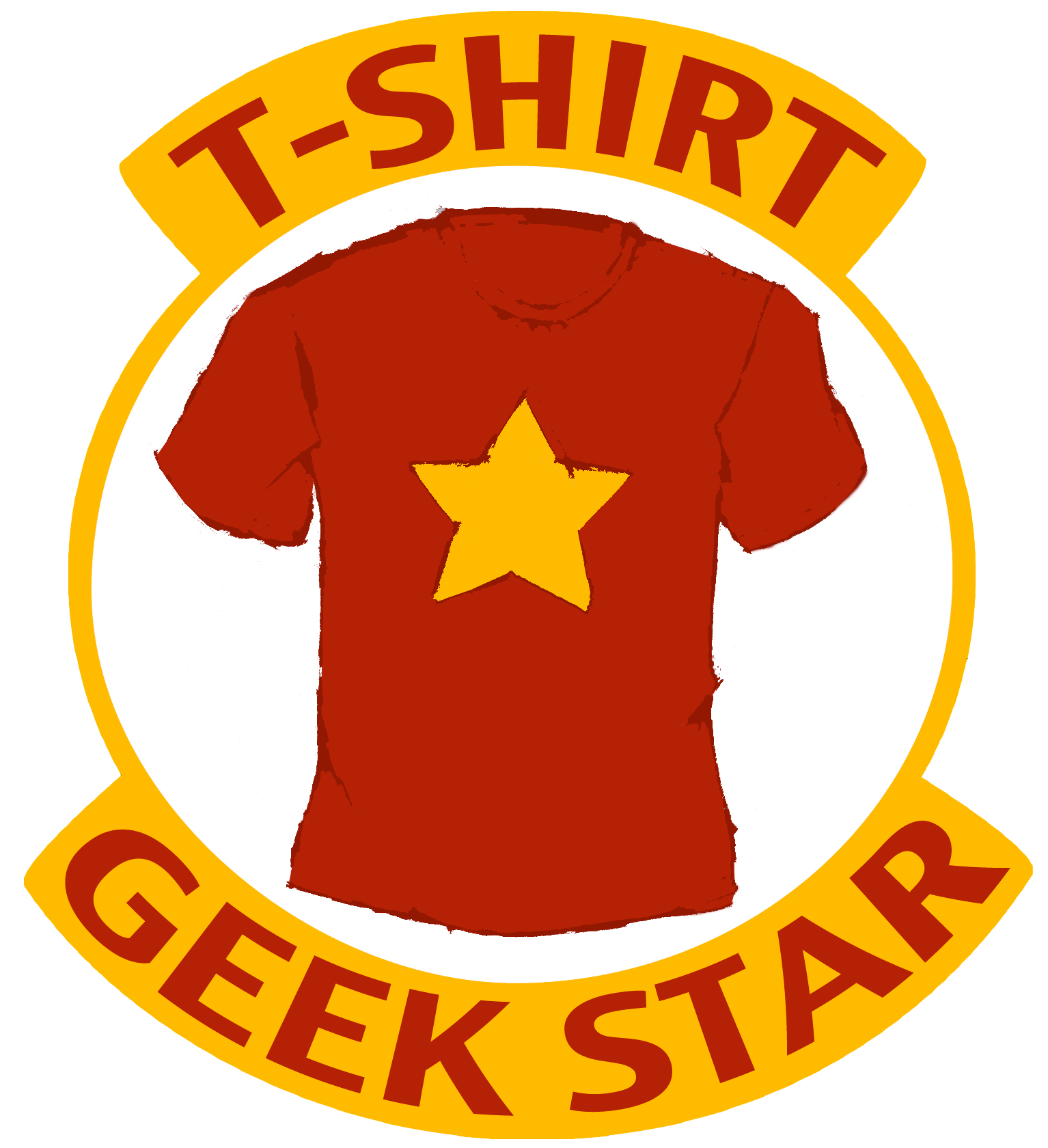 T-shirt Geek Star