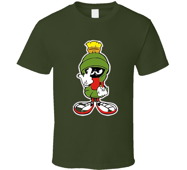 T-SHIRT ET VÊTEMENTS MARVIN LE MARTIEN FU.. YOU 1