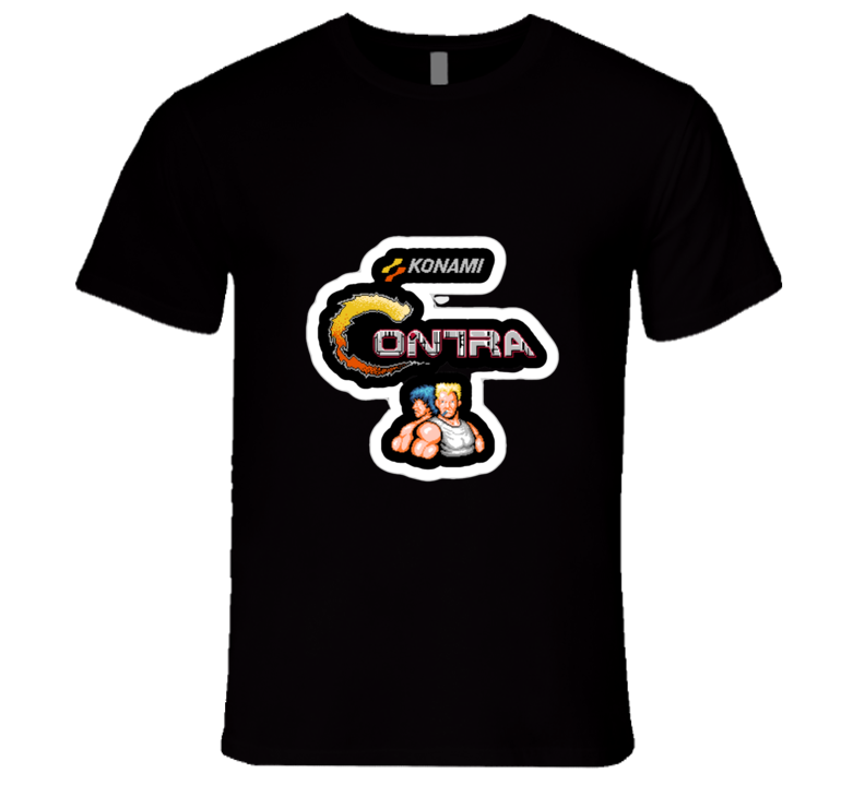 Contra Video Game T-shirt And Apparel T Shirt 1