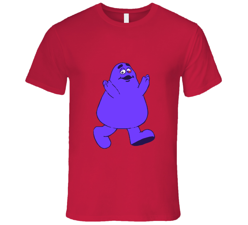 Grimace Mcdo T-shirt And Apparel T Shirt 1