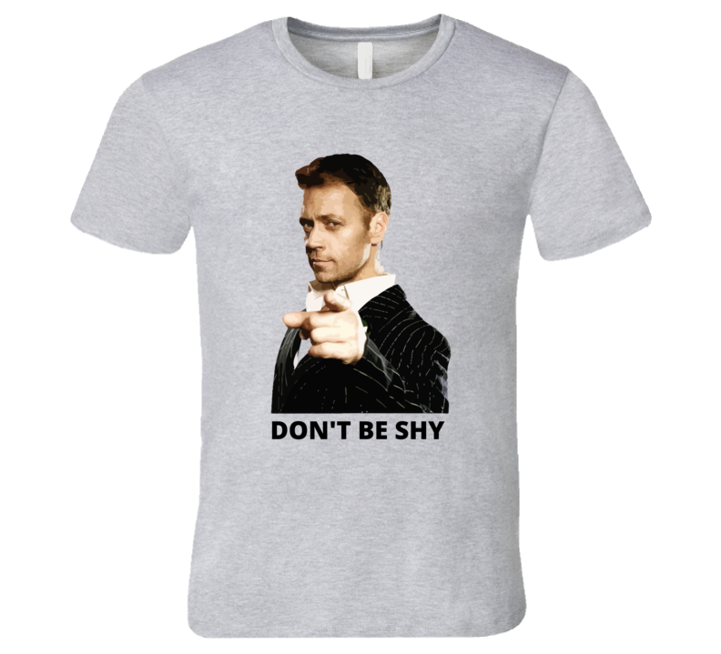 Rocco Siffredi Don't Be Shy T-shirt And Apparel T Shirt 1