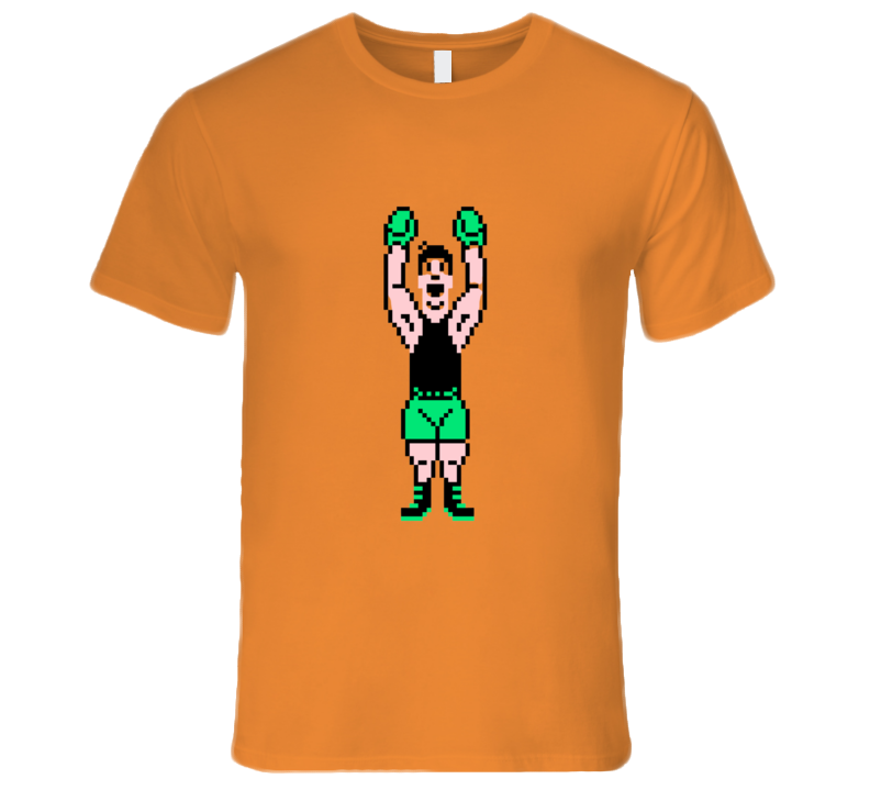 Punch-out Little Mac Victory T-shirt And Apparel T Shirt 1