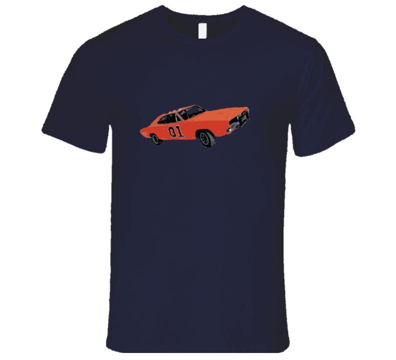 Duke Of Hazard General Lee T-shirt And Apparel T Shirt 1