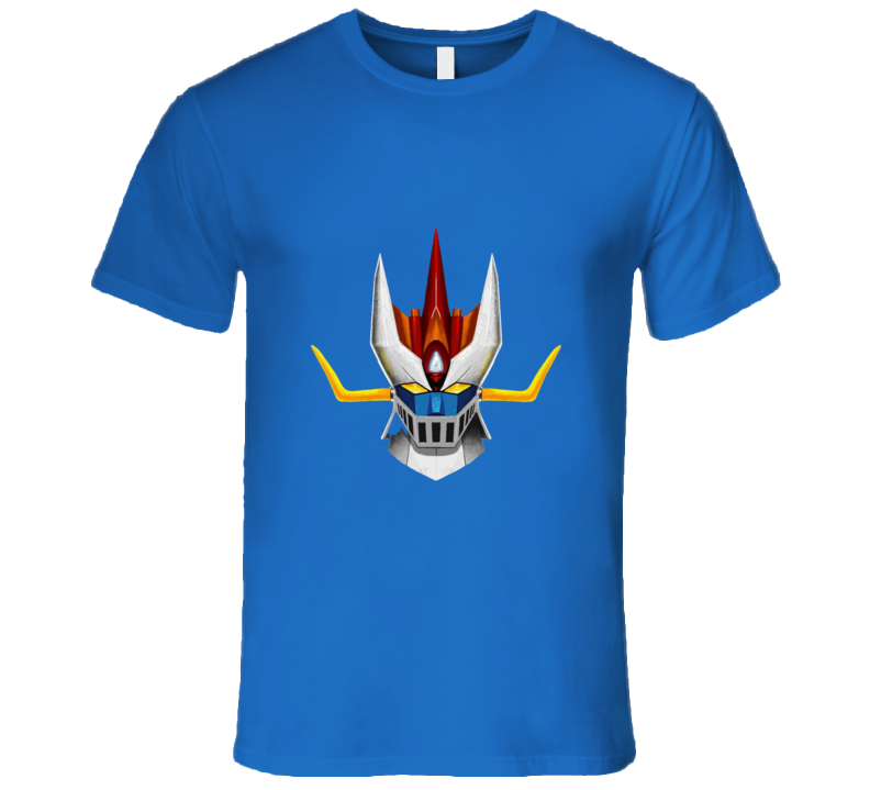 Great Mazinger Head T-shirt And Apparel T Shirt 1