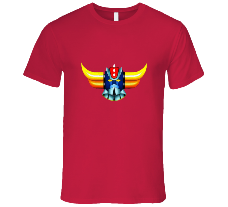 Grendizer Ufo Robot Head T-shirt And Apparel T Shirt 1
