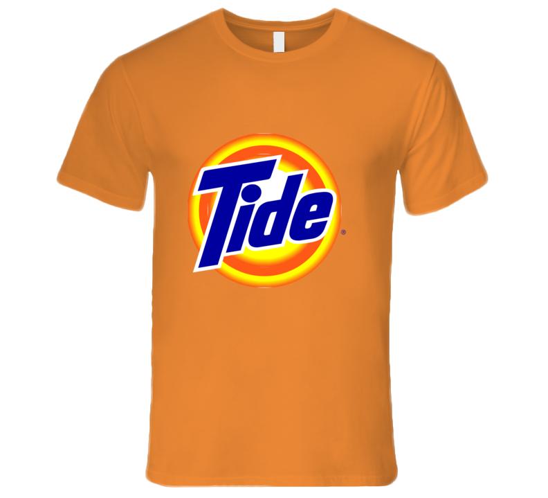 Tide Logo T-shirt And Apparel T Shirt 1