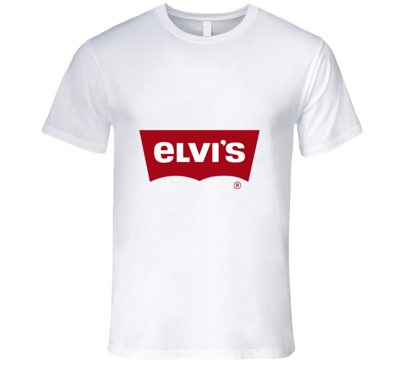 Levis Logo Elvis Parody T-shirt And Apparel T Shirt 1