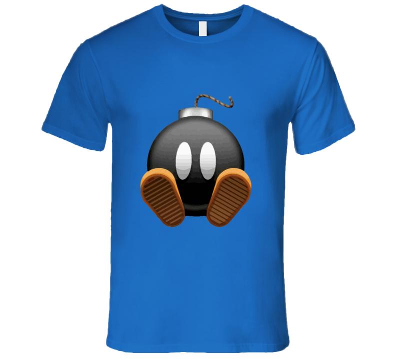 Mario Bombman T-shirt And Apparel T Shirt 1