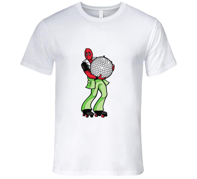 Deadpool Disco T-shirt And Apparel T Shirt 1