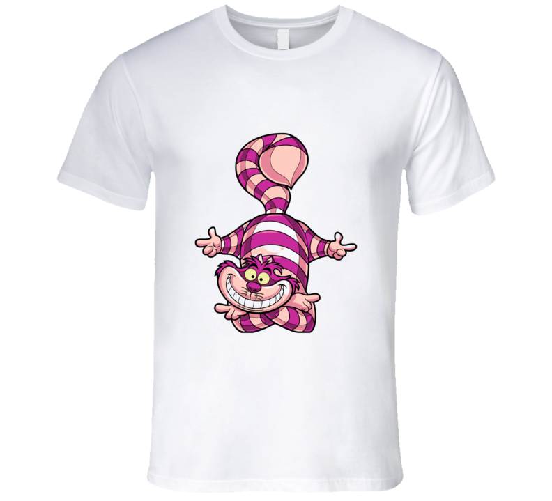 Alice In Wonderland Chesshire Cat T-shirt And Apparel T Shirt 1