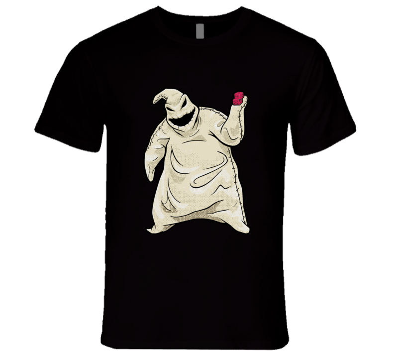 The Nightmare Before Christmas Oogie Boogie T-shirt And Apparel T Shirt 1