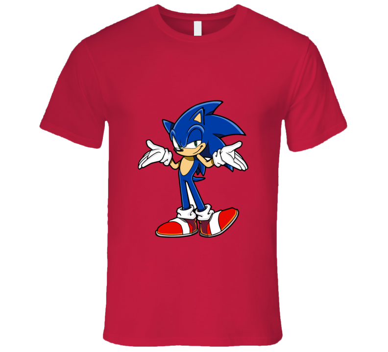 Sonic The Hedgehog T-shirt And Apparel T Shirt 1