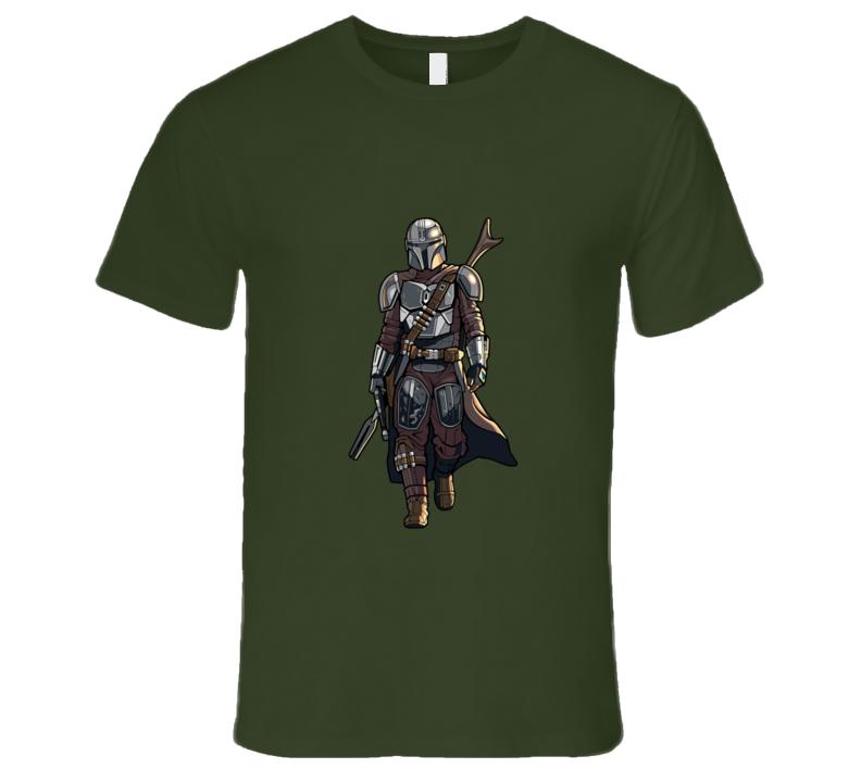 The Mandalorian Walk T-shirt And Apparel T Shirt 1