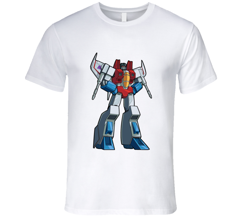 Transformers Starscream Stand Up T-shirt And Apparel T Shirt 1