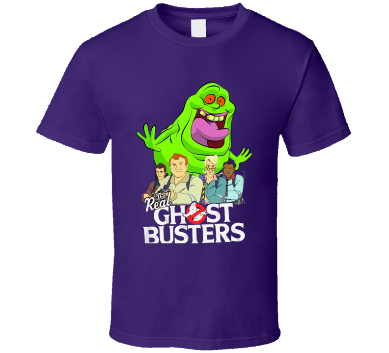 The Real Ghostbusters T-shirt And Apparel T Shirt 1