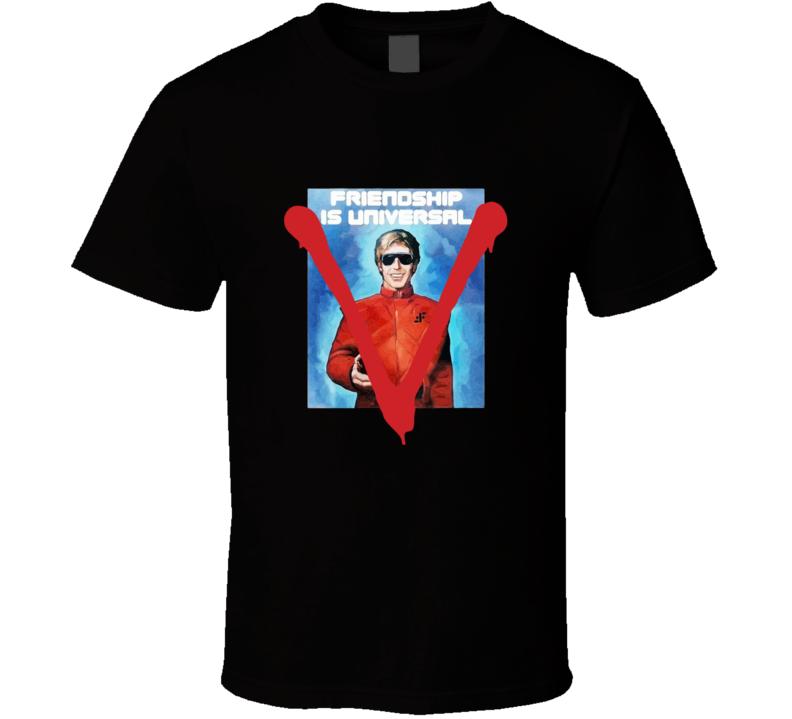 V The Visitor Propaganda Poster T-shirt And Apparel T Shirt 1