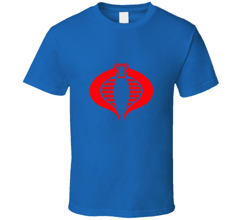 G.i. Joe Logo Cobra T-shirt And Apparel 1