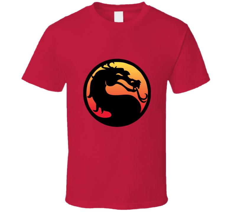 Mortal Kombat Logo T-shirt And Apparel T Shirt 1