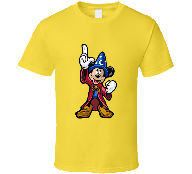 Disney Mickey The Apprentice Sorcerer T-shirt And Apparel T Shirt 1