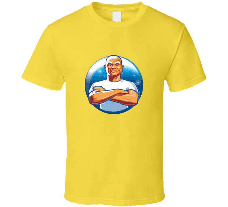 Mr. Clean T-shirt And Apparel T Shirt 1
