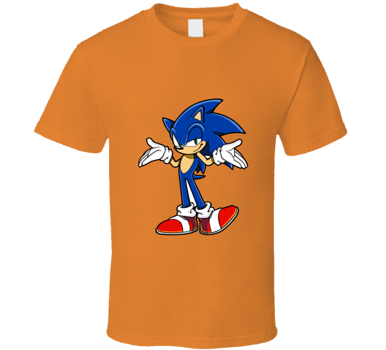 Sonic The Hedgehog Here I Am T-shirt And Apparel T Shirt 1