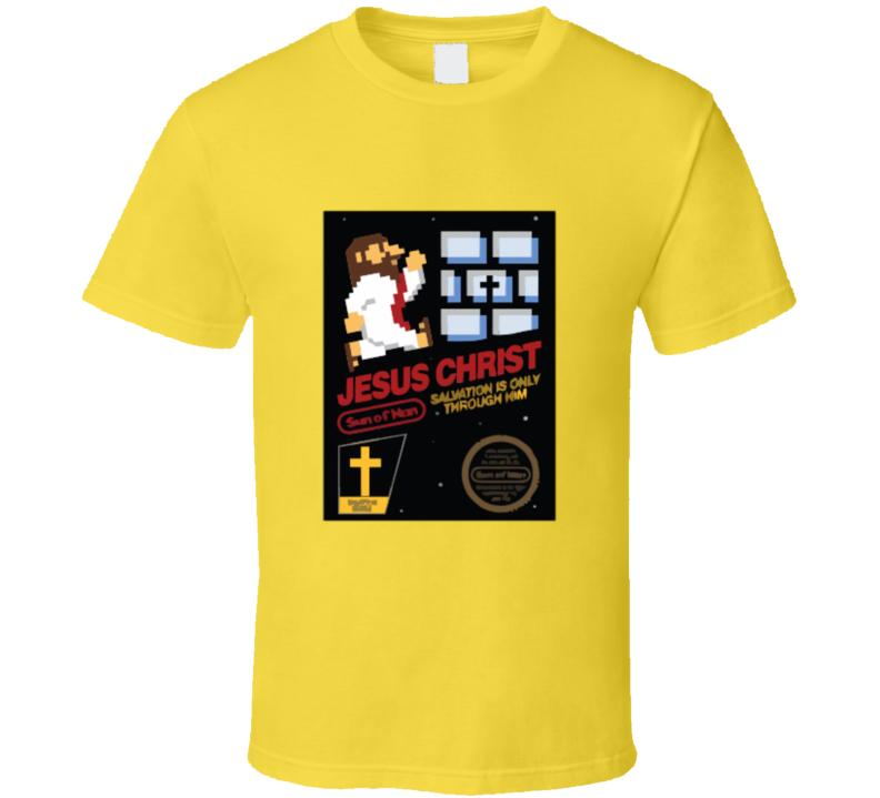 Super Mario Bros Mashup Jesus T-shirt And Apparel T Shirt 1