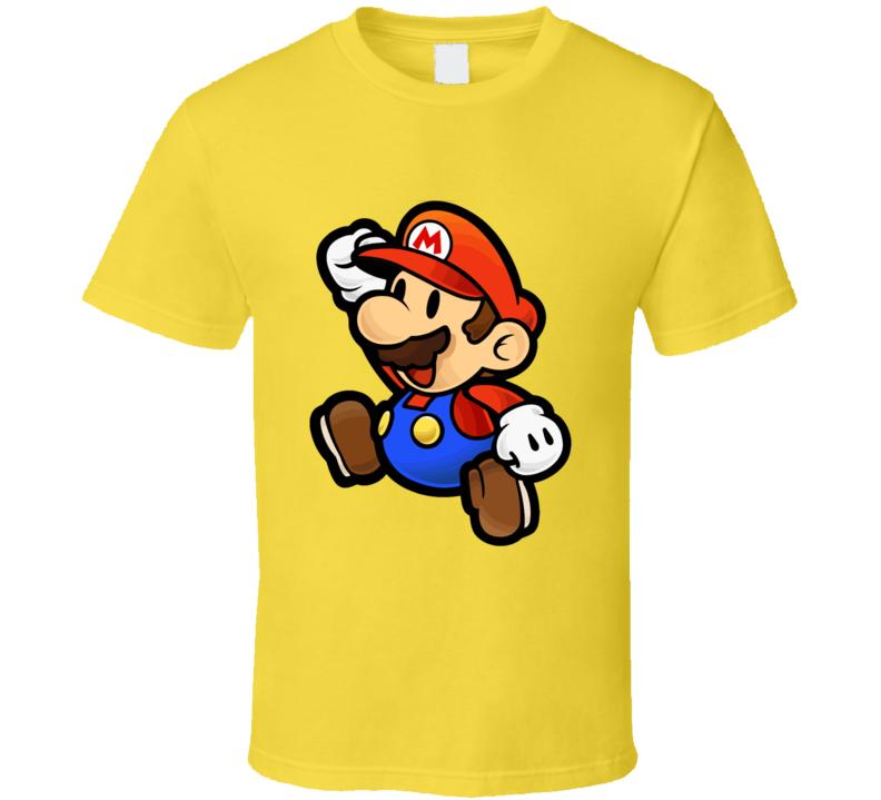 Mario Bros Original Retro T-shirt And Apparel T Shirt 1