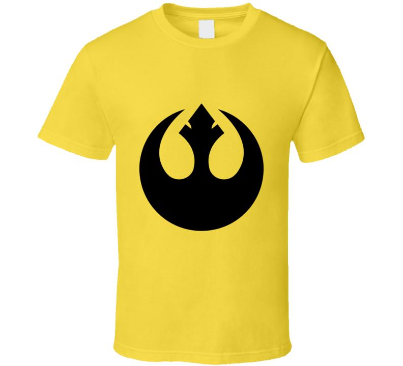 Star Wars Rebel Logo T-shirt And Apparel T Shirt 1