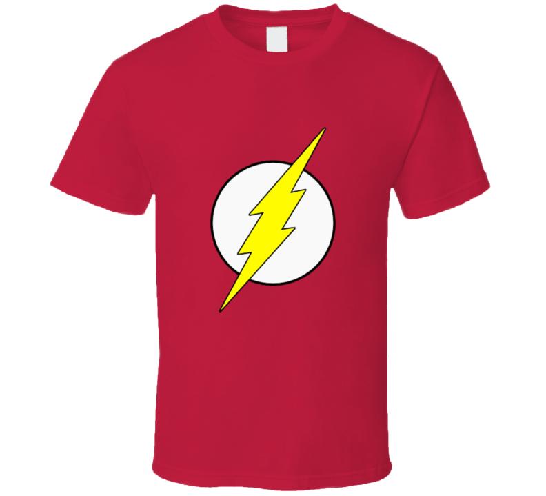 Dc The Flash Logo T-shirt And Apparel T Shirt 1