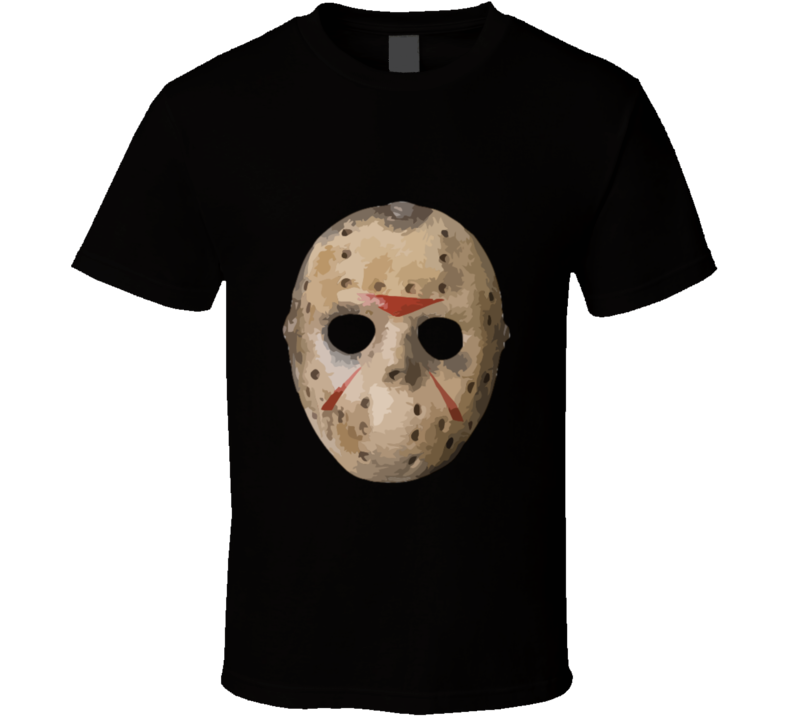 Friday The 13th Jason Mask T Shirt AND APPAREL 1