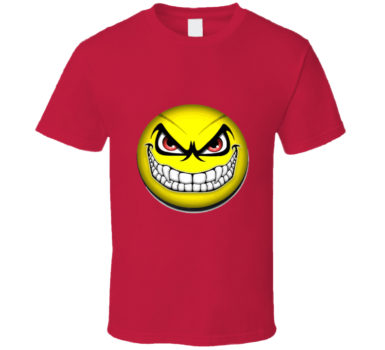 Happy Face Devil Smile T-shirt And Apparel T Shirt 1