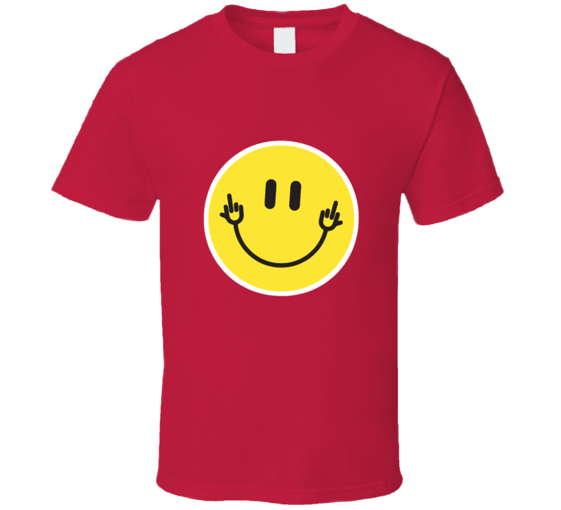 Happy Face Double Fu.. You T-shirt And Apparel T Shirt 1