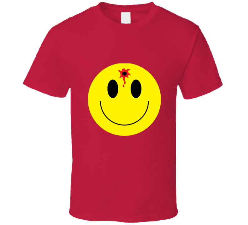 Happy Face Hole In The Head T-shirt And Apparel T Shirt 1