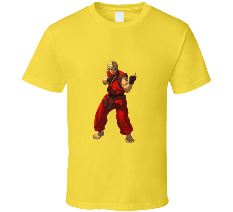 Street Fighter Ken Fu.. You T-shirt And Apparel T Shirt 1