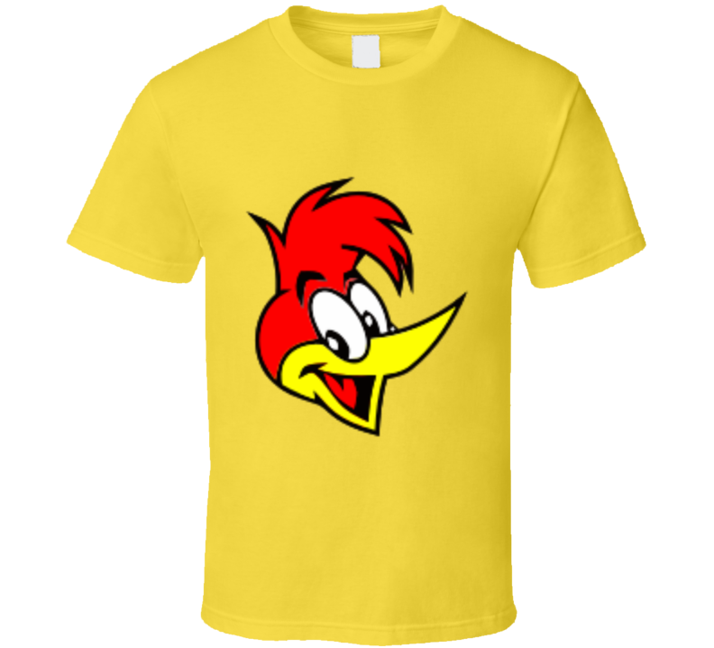 Woody Woodpecker Head T-shirt And Apparel T Shirt 1