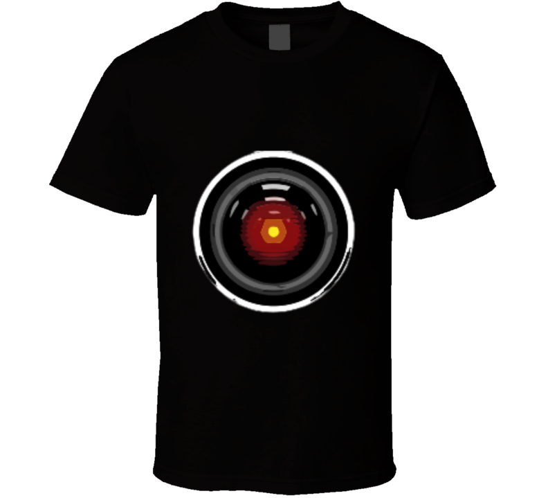 2001 A Space Odyssey Hal T-shirt And Apparel T Shirt 1
