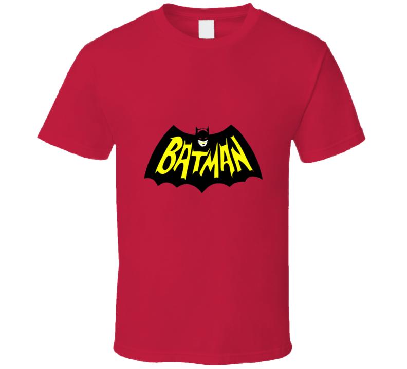 Batman 1966 Retro Logo T-shirt And Apparel T Shirt 1