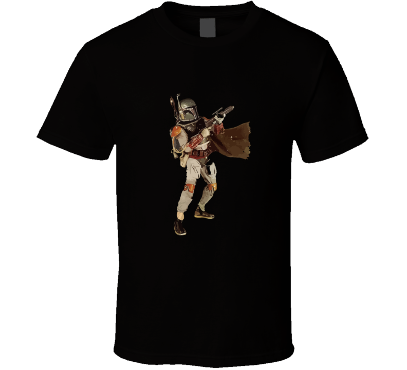 Star Wars Boba Fest Ready To Shoot T-shirt And Apparel T Shirt 1
